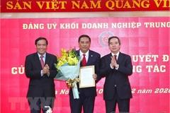 Ông Hoàng Giang giữ chức Phó Bí thư Đảng ủy Khối Doanh nghiệp TƯ