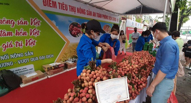 Cả xã hội cùng đồng hành với nông sản Việt