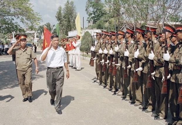 Nguyen Tong Bi thu Le Kha Phieu: Tam guong cong hien het minh hinh anh 1