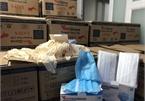 TP.HCM: Phát hiện hàng triệu khẩu trang, găng tay y tế kém chất lượng