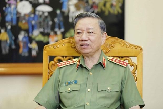 Dai tuong To Lam: Luc luong Tham muu Cong an phat huy truyen thong hinh anh 1