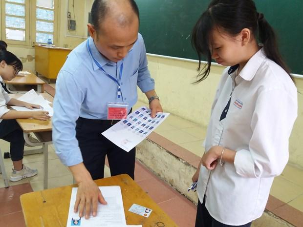 Ha Noi: Trang bi ky nang chong gian lan cong nghe cao cho cac giam thi hinh anh 1