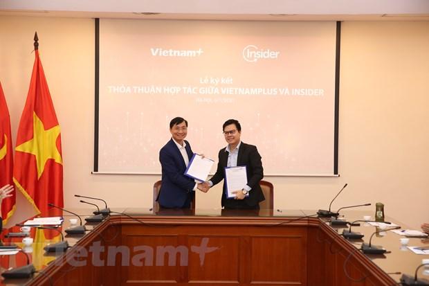 VietnamPlus-Insider hop tac thuc day chuyen doi so trong bao chi hinh anh 1