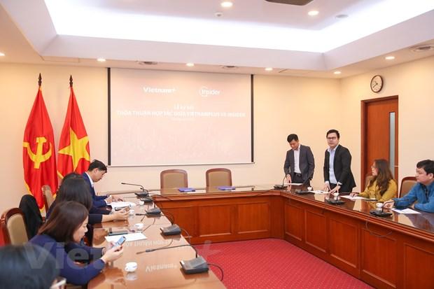 VietnamPlus-Insider hop tac thuc day chuyen doi so trong bao chi hinh anh 2