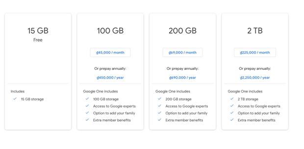 Google Photos se ngung luu tru anh mien phi tu giua nam 2021 hinh anh 2