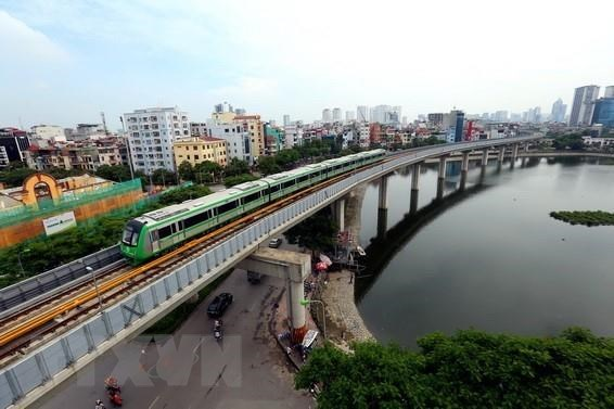 Cat Linh – Ha Dong Railway to be put into commercial operation soon (Photo: VNA)