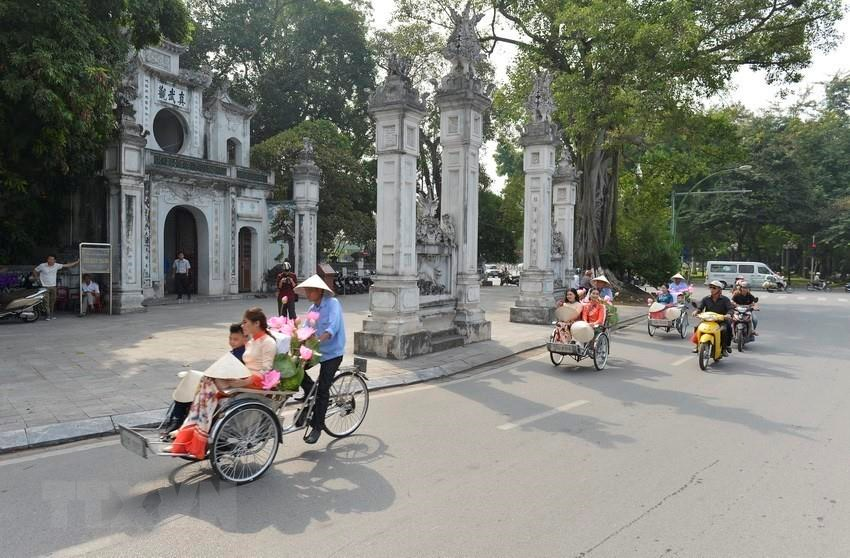 Quan Thanh temple on Thanh Nien road, Ba Dinh district was built under the reign of King Ly Thai To (1010 – 1028) (Photo: VNA)