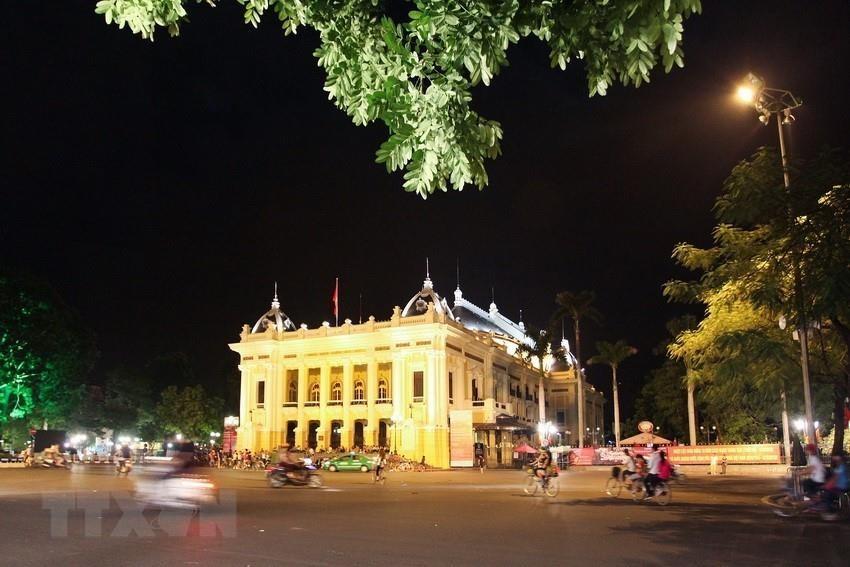 Hanoi Opera House is a venue for big cultural events (Photo: VNA)