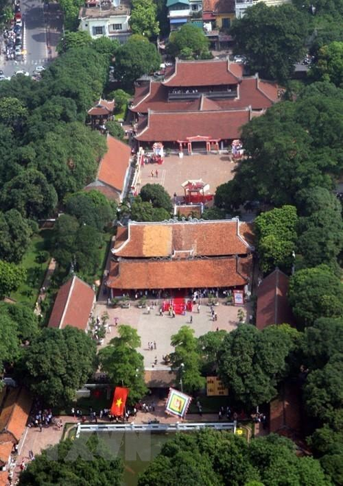 Van Mieu (Temple of Literature), Vietnam's first university, is a can't-miss tourist destination for anyone to the capital city (Photo: VNA)