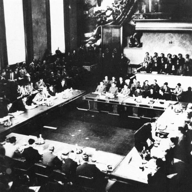 The opening ceremony of the Geneva Conference, May 8, 1954 (Photo: VNA)