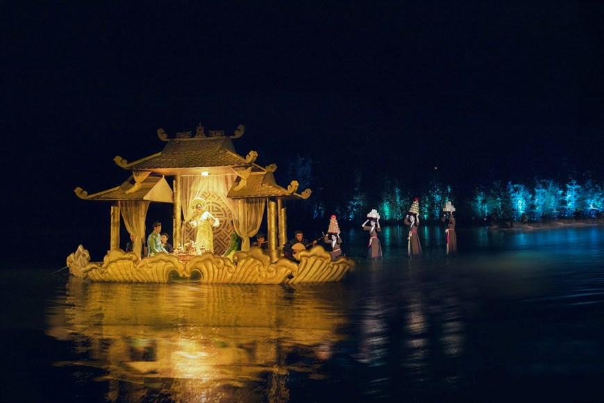 The spectacle is run by Tuan Chau Ha Noi JSC (Photo: VNA)
