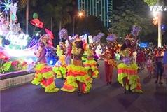 Street carnival in Da Nang