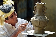Ninh Thuan's traditional pottery preserved and promoted