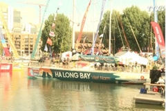 "Global yacht race clipper named ""Ha Long Bay – Vietnam"""