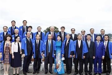 PM Phuc attends Japan-Vietnam lotus festival