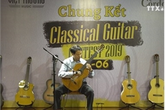 Guitarists rejoice at the classical guitar contest