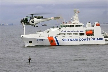 Vietnam Coast Guard active in int'l missions and exchanges