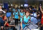 Fans greet Vietnam women's football team