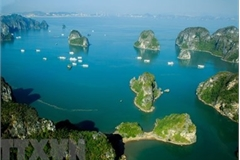 Ha Long Bay one of world's most photographed cruise destinations