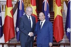 PM Nguyen Xuan Phuc welcomes Australian counterpart