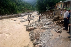 Heavy rain, floods wreak havoc in northern mountainous localities