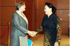 Top legislator hails UNICEF's support of child protection in Vietnam