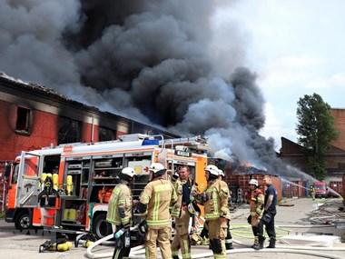 Vietnamese market in Germany on fire