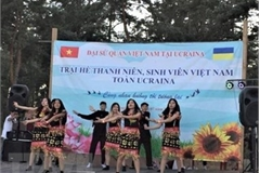 Vietnamese youth camp held in Ukraine