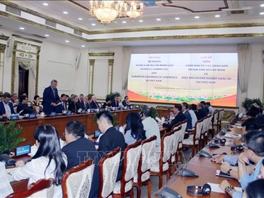 HCM City wants to cooperate with European businesses in smart city