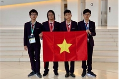 Vietnam ranks fourth at Int'l Informatics Olympiad 2019