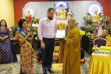 Vietnamese's Buddhist cultural centre in Czech Republic gets provincial status