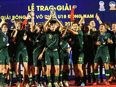 Australia crowned champion at AFF U18 Championship 2019