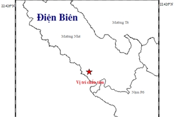 Dien Bien reports 8th earthquake in 2019