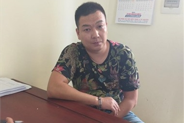 Quang Tri border guards capture wanted Chinese suspect
