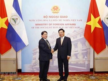 Nicaraguan Foreign Minister visits Vietnam