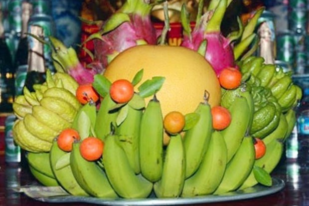 Tet fruit tray, indispensible part of Vietnamese culture hinh anh 1