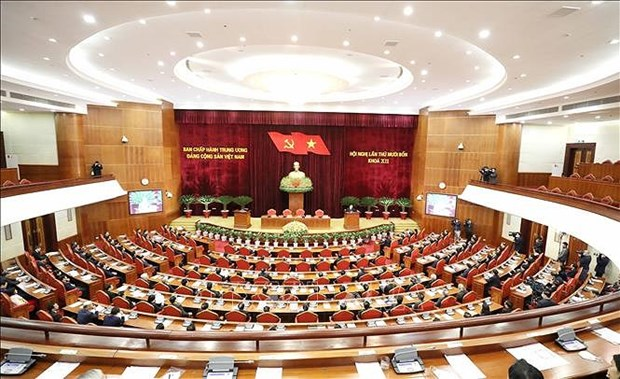 Implementation of 2011 Party Platform produces important developments in theory, practice hinh anh 1