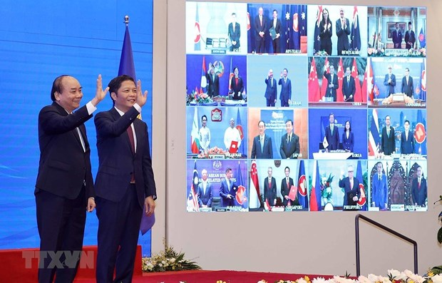 RCEP a bright spot in bleak global economy hinh anh 1