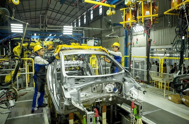 Development of supporting industry for automobiles awaits breakthrough policies hinh anh 1
