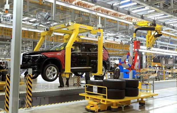 Development of supporting industry for automobiles awaits breakthrough policies hinh anh 2