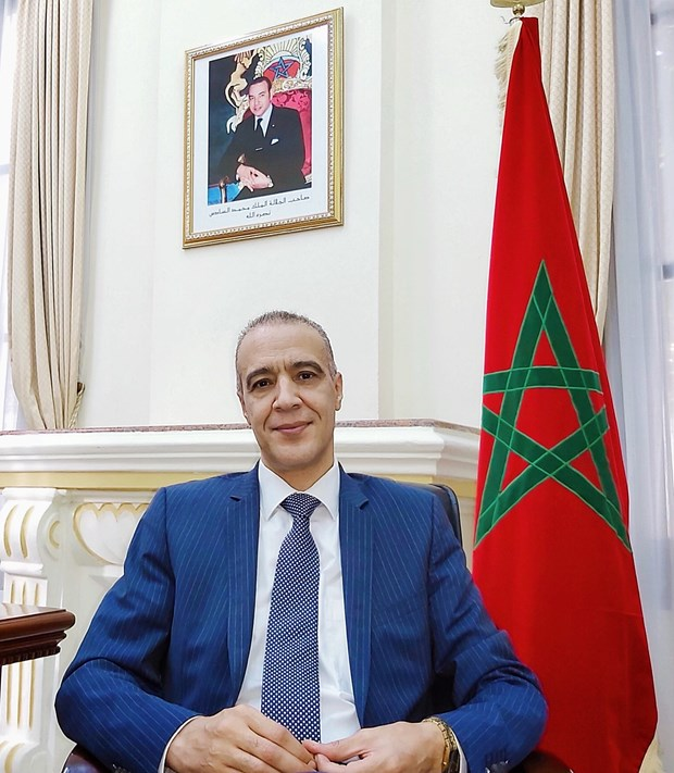 Party Congress to greatly influence Vietnam's development: Moroccan Ambassador hinh anh 2