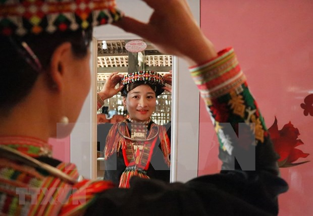 New Year customs of Red Dao ethnic people in Yen Bai province hinh anh 2