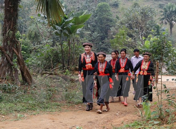 New Year customs of Red Dao ethnic people in Yen Bai province hinh anh 4