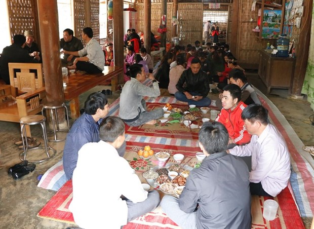 New Year customs of Red Dao ethnic people in Yen Bai province hinh anh 5