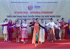 ASEAN 2020: Exhibition on ASEAN traditional costumes opens in Hanoi