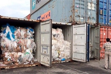 Cambodia ships back 83 plastic waste-filled containers to US, Canada
