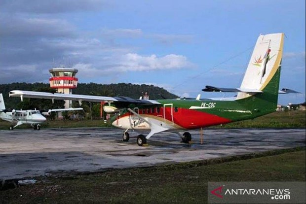 Indonesia searches for missing Twin Otter aircraft hinh anh 1