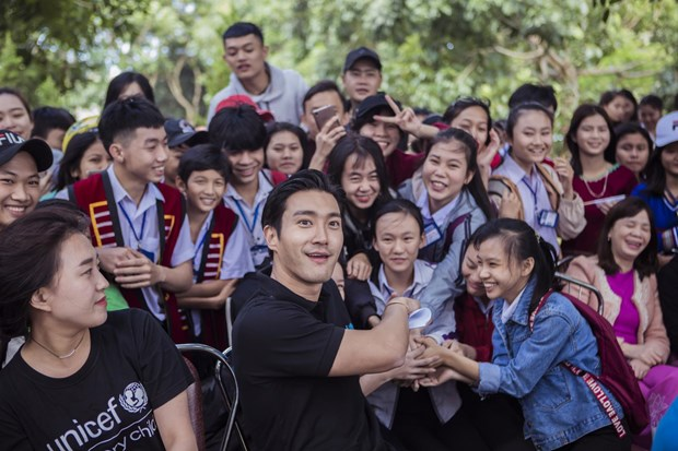 Korean artists to join UNICEF's anti-bullying campaign in Vietnam hinh anh 1