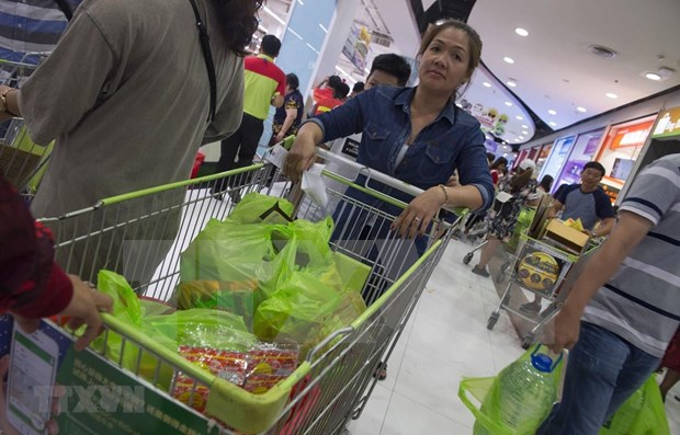 Large Thai retailers to stop handing out plastic bags from 2020 hinh anh 1