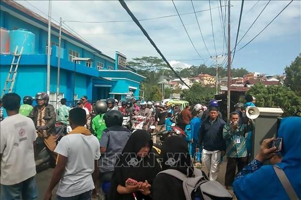 Strong quake hits eastern Indonesia, no tsunami warning issued hinh anh 1